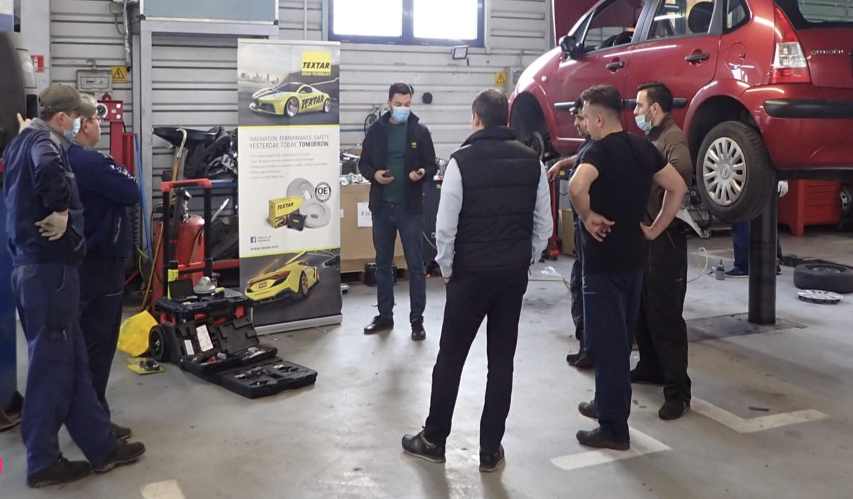 Formation de TMD Friction dans un garage