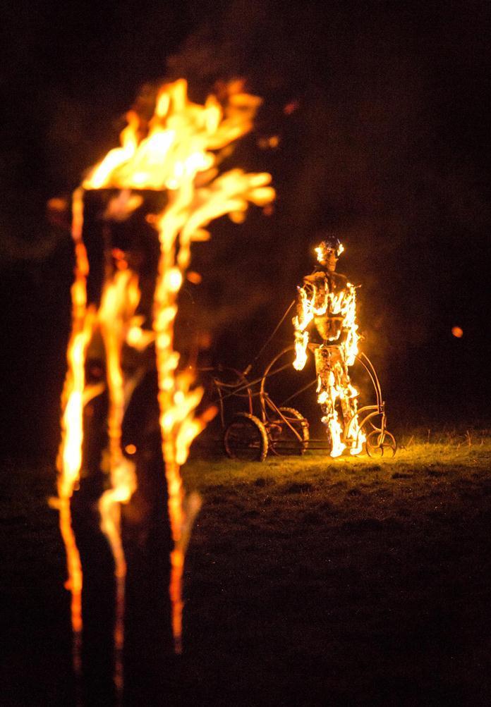 Vuurkunstwerk - (c) GoneWest
