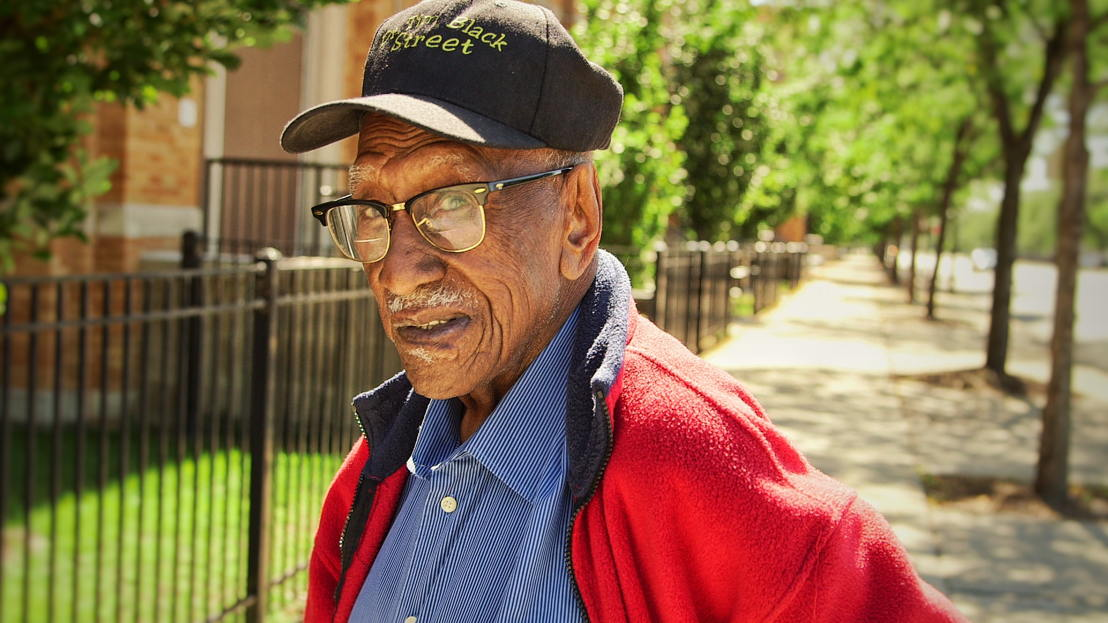 Timuel Black and educator and civil rights activist from Chicago