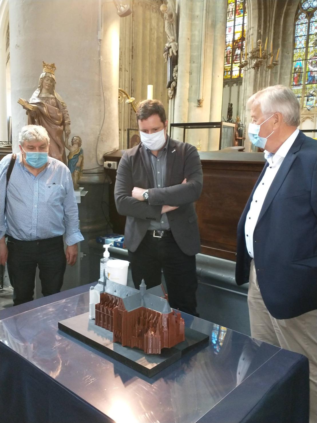 Expo 'Zeven eeuwen Sint-Sulpitiuskerk' in Diest