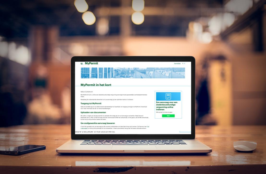 Online building permit application