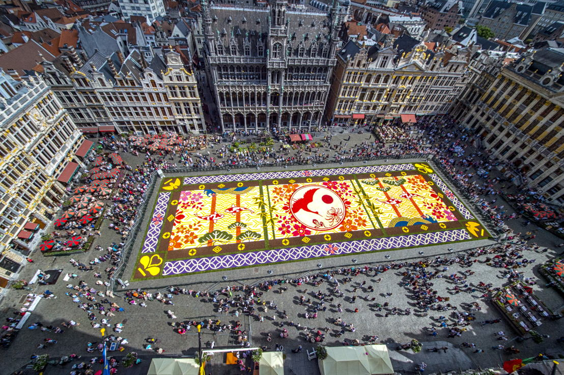 Brussels Flower Carpet 2016<br/>© Wim Vanmaele