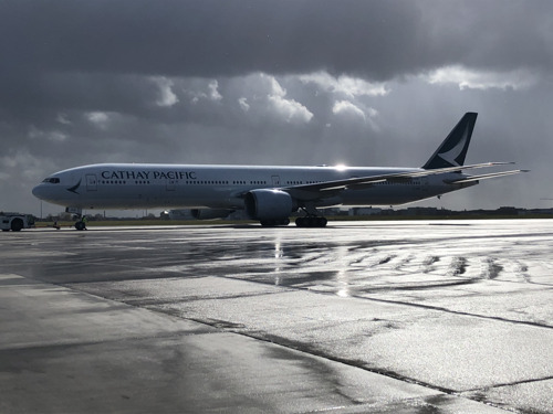 Cathay Pacific welcomes back Freighter Service to Brussels