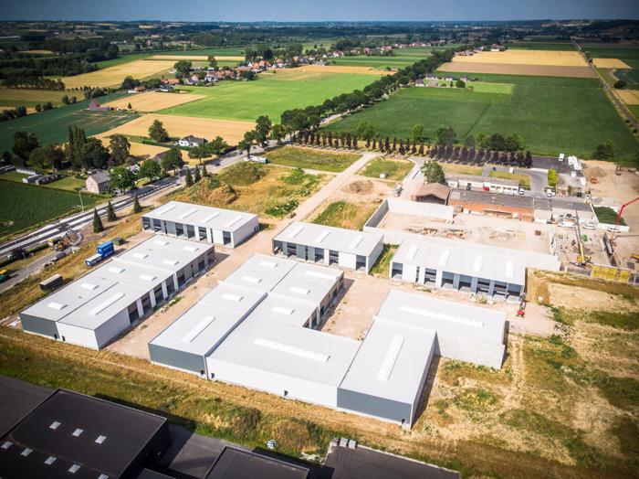 Eerste bedrijven nemen vandaag intrek in grootste kmo-park van Kluisbergen