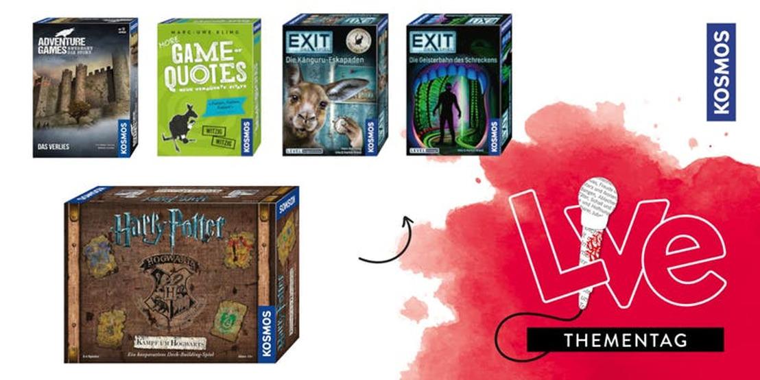 """""""Hugendubel spielt!"""": Die neuesten Spiele zum Probieren"""