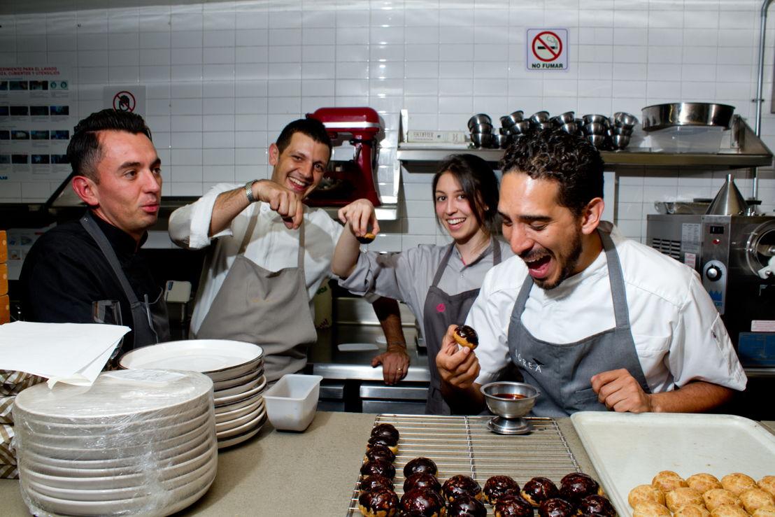 Chef Edgar Núñez Magaña, Chef Matteo Salas, Chef Sofía Cortina y Chef Oswaldo Oliva