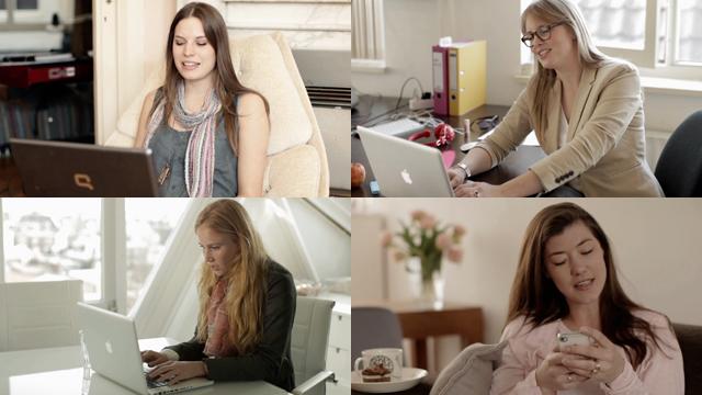 4 vriendinnen boeken een trip