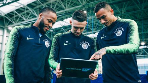 SAP y el Manchester City llevan por primera vez la tecnología al terreno de juego