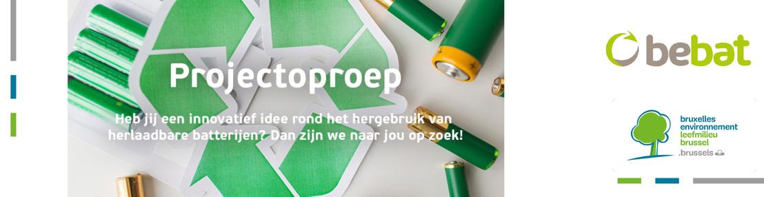 Leefmilieu Brussel en Bebat lanceren projectoproep om innovatie in hergebruik en second life van herlaadbare batterijen te stimuleren