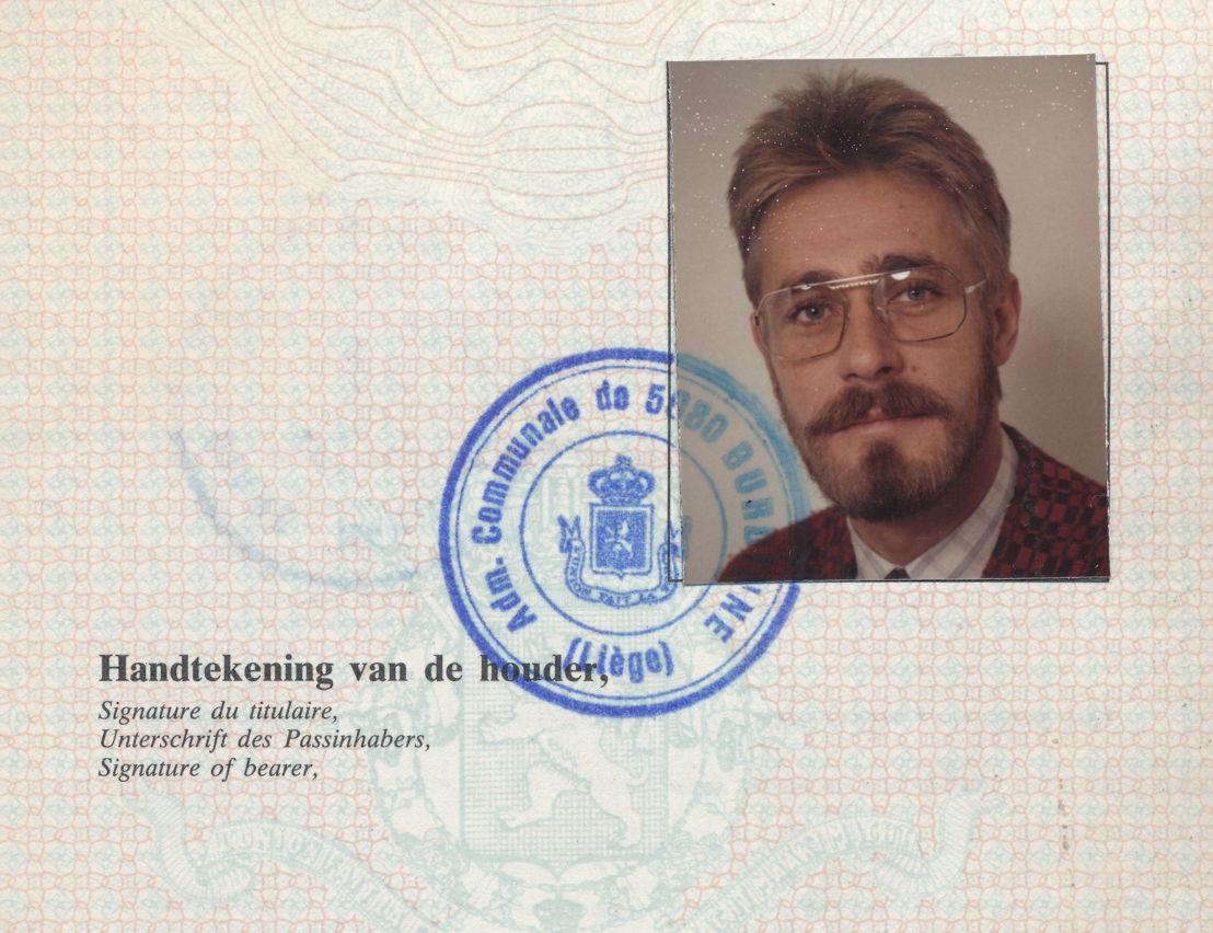 Vals paspoort Haemers