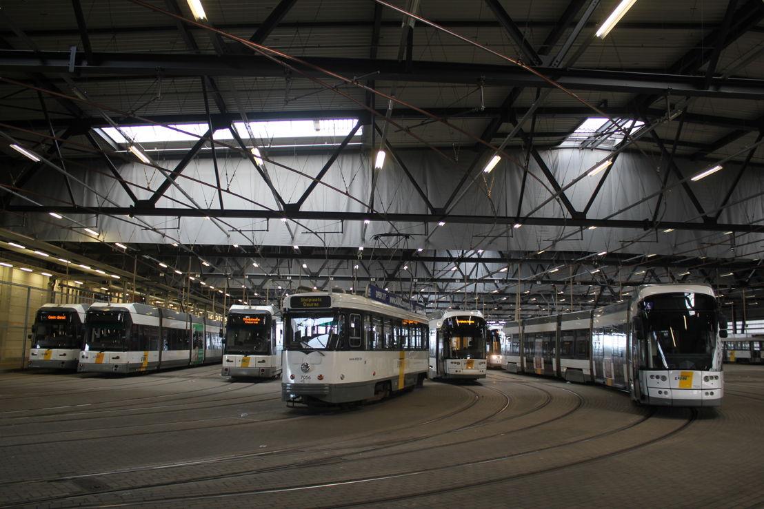 Stelplaats Deurne, van De Lijn, gebouwd in 2012.