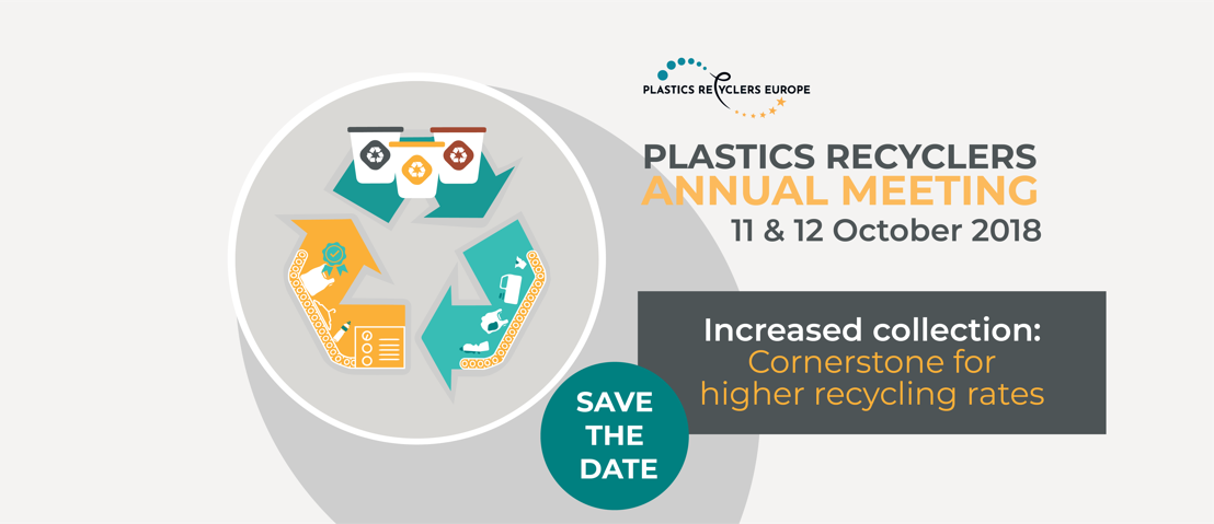 Save the date for Plastics Recyclers Annual Meeting 2018