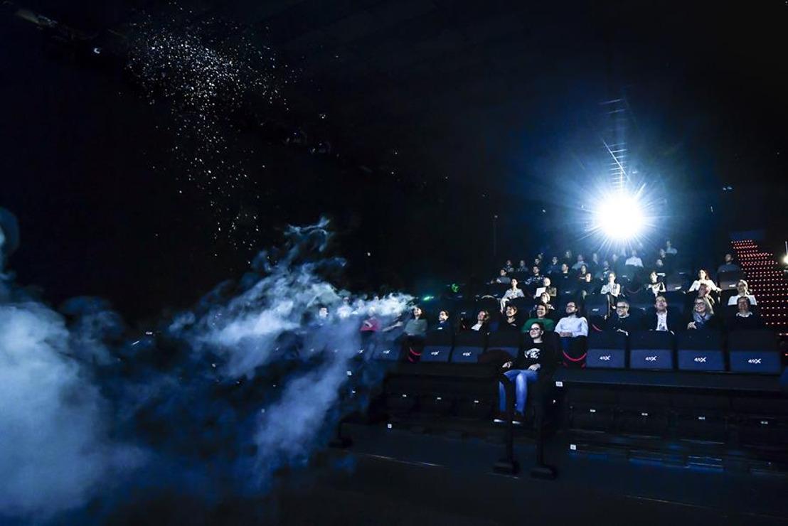 Kinepolis Liège accueille sa première salle 4DX
