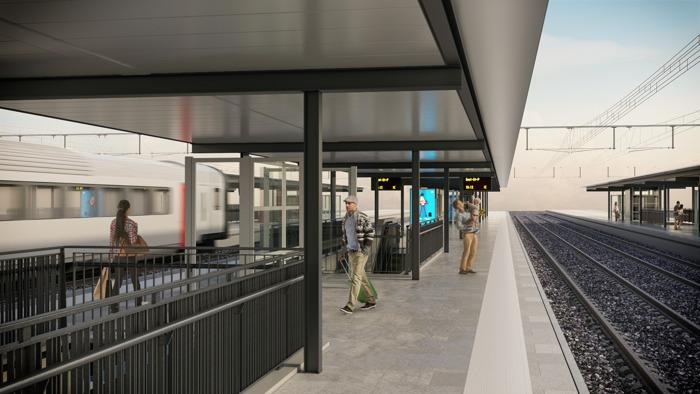 Station van Denderleeuw wordt integraal toegankelijk: werken gaan van start