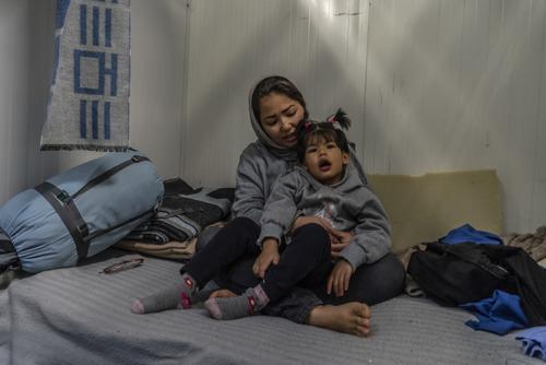 El Gobierno griego priva de forma deliberada de atención médica a los niños refugiados de Lesbos