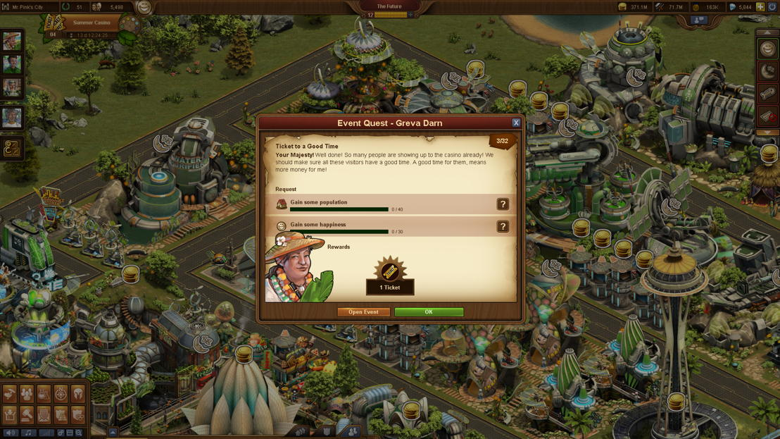 Forge of Empires Summer Event