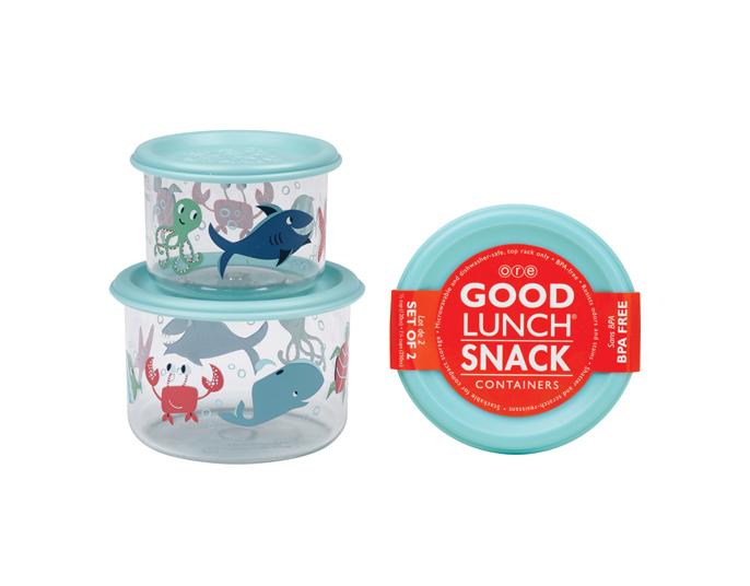 SugarBooger set 2 snack doosjes Ocean - €11,95