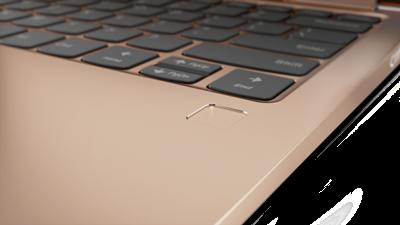 Lenovo Yoga fingerprint reader