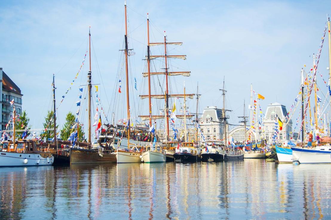 Ga aan boord van 140 schepen op Oostende voor Anker!
