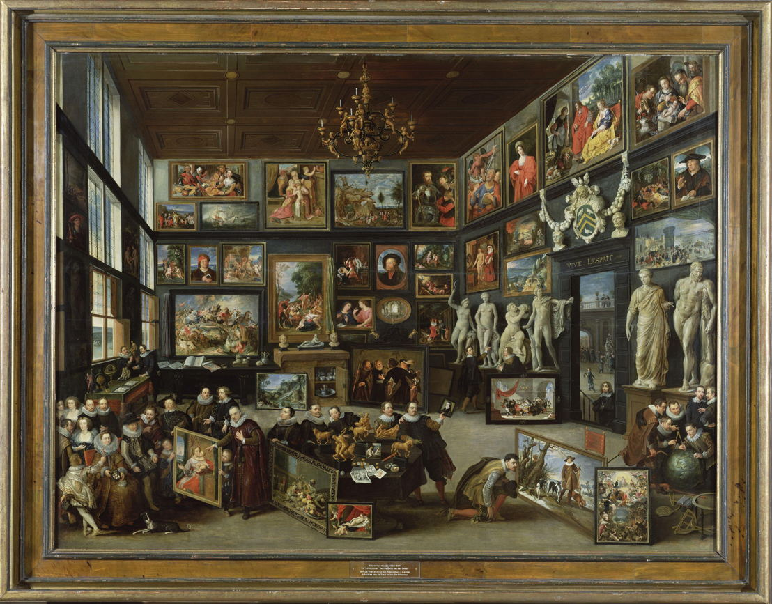 De kunstkamer van Cornelis van der Geest_Willem van Haecht (c) Rubens House Antwerp