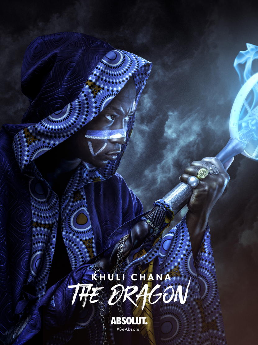 Khuli Chana - The Dragon (with title)