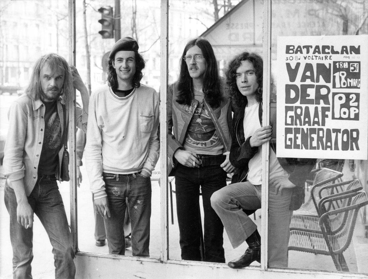 VDGG Bataclan Paris March 1972 photo credit Herman Permentier