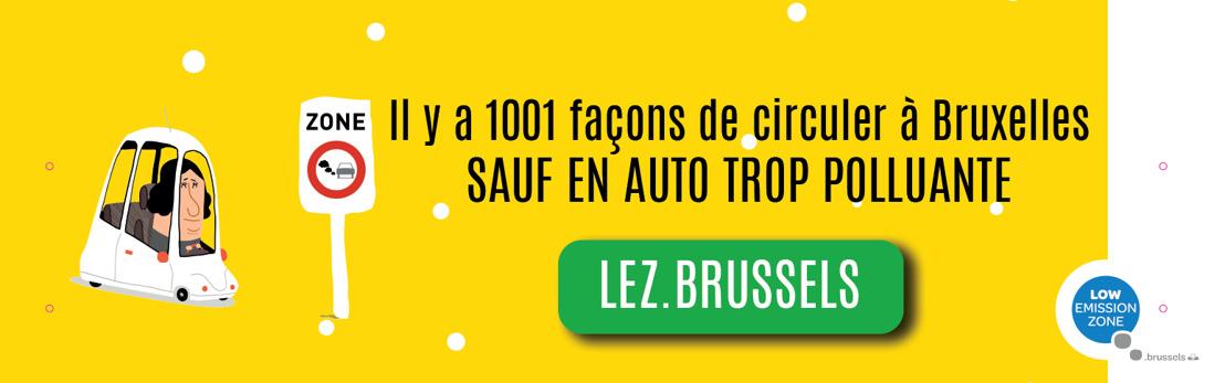 LEZ : une nouvelle dérogation pour les personnes à mobilité réduite à Bruxelles