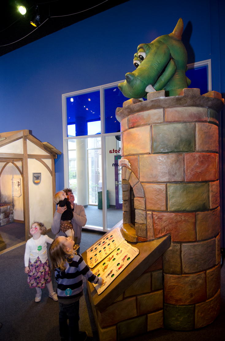 The Amazing Castle (Photo by Minnesota Children's Museum)