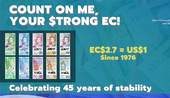 Preview: 2021 Marks 45 Years of EC Dollar Peg to US Dollar