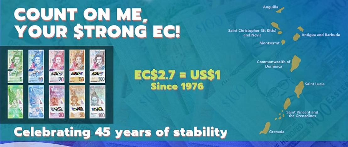 2021 Marks 45 Years of EC Dollar Peg to US Dollar