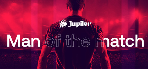 "Jupiler & Pro League lanceren ""Jupiler Man of the match"""