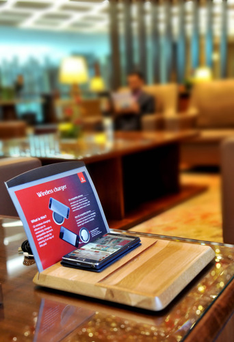 Stay connected and charged on your Emirates journey