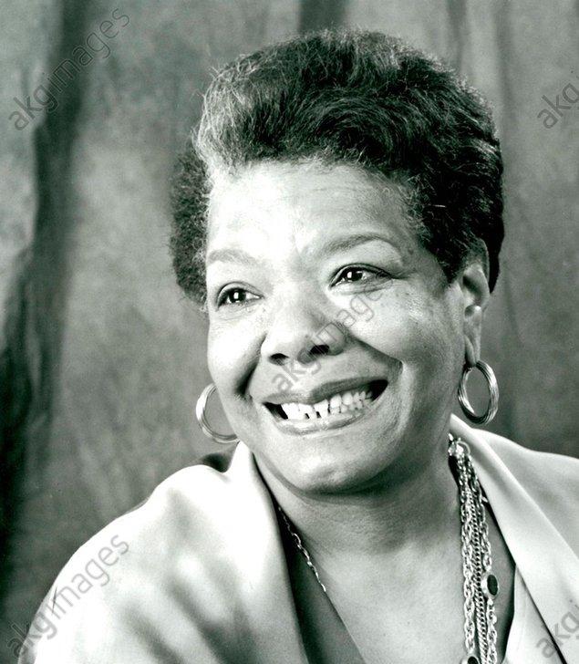 Angelou, Maya, 1928 – 2014, American author, poet, dancer, civil rights activist and singer.<br/>AKG2827739