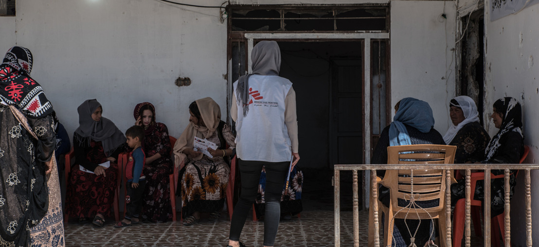 MSF warns of mental health crisis amongst Yazidis in Iraq