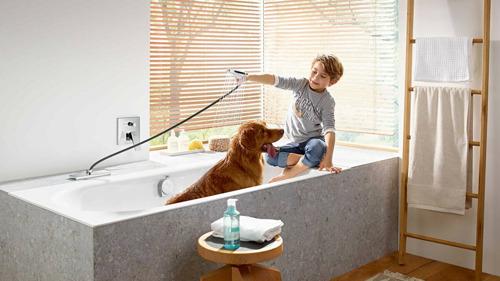 Het sBox systeem van hansgrohe nu ook in de badkamer