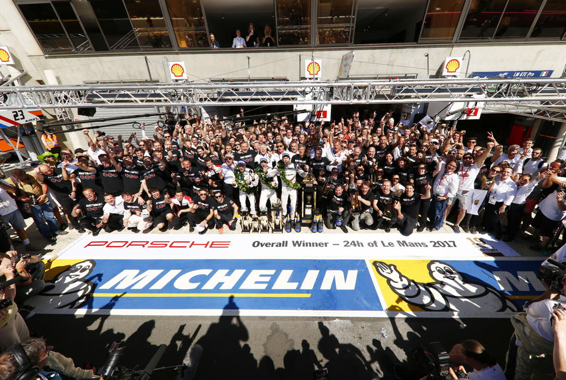 Porsche LMP Team wins Le Mans 2017