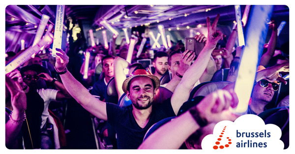 Preview: Brussels Airlines and Tomorrowland unite the world in Belgium