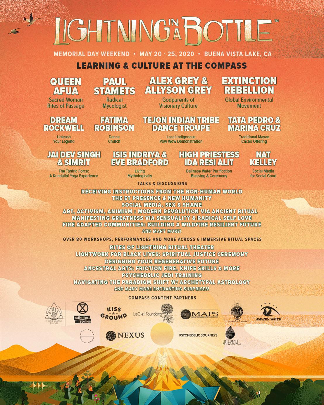 Lightning in a Bottle Announces Learning & Culture Programming for 2020 Festival