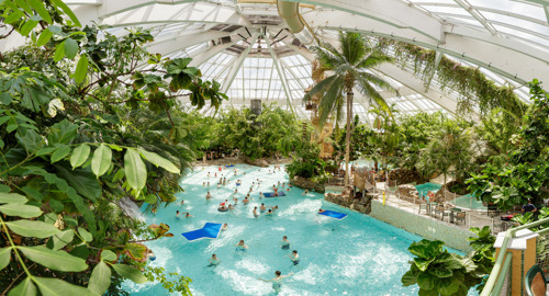 Center Parcs De Vossemeren opte pour la chaleur durable de Luminus