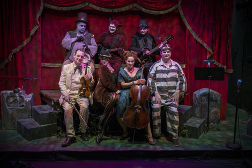 The Ghastly Dreadfuls stage spooky favorites at the Center for Puppetry Arts, October 9-26