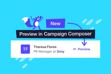 New features added to 'Step 3: Reviewing Recipients' of the Campaign Composer