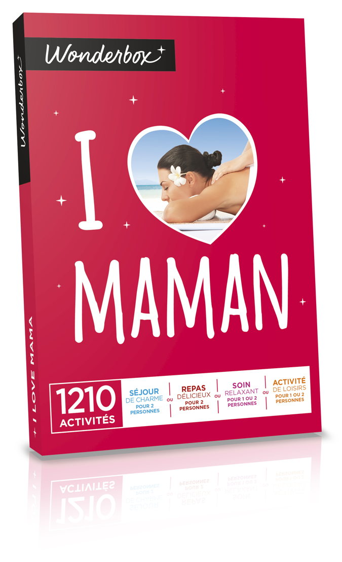 "Wonderbox ""I Love Maman"" - 49,90 €."