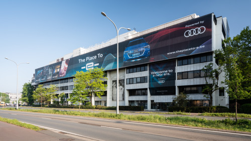 Audi opent een uniek belevingscenter: The Place To -e