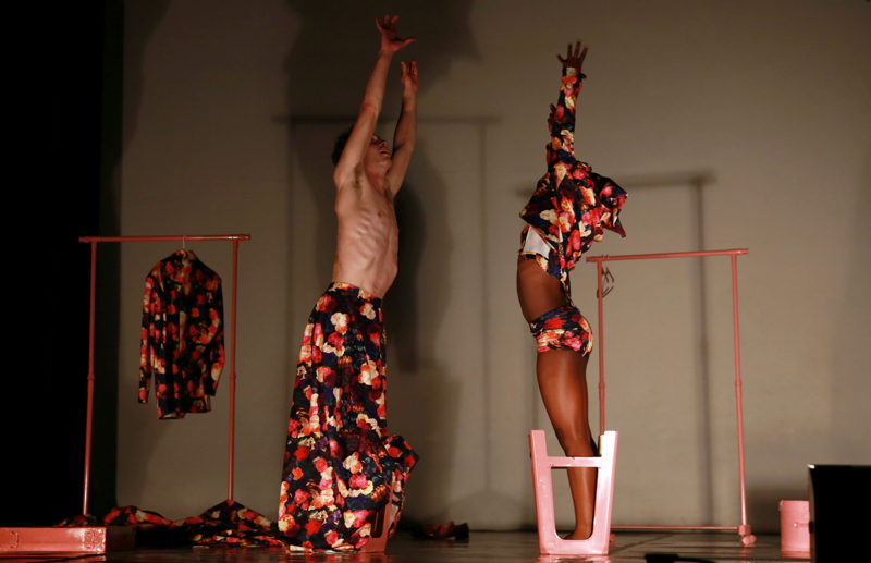 A scene from Let's Eat Hair. Image by Nardus Engelbrecht
