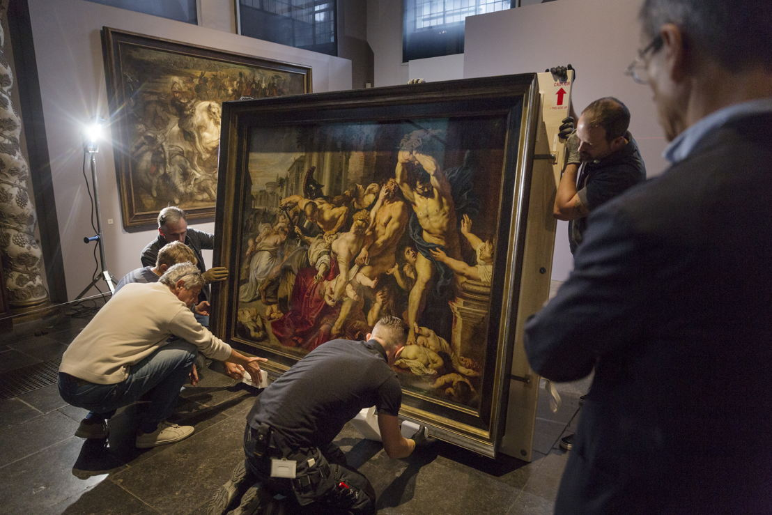 Image name: 30_Rubens, Arrival of the Massacre at the Rubens House, The Thomson Collection at the Art Gallery of Ontario, Art Gallery of Ontario, photo Ans Brys.jpg