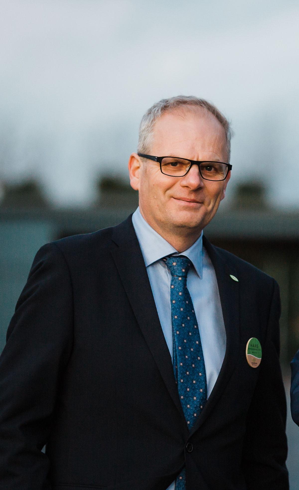 Hans Vanderhallen, directeur de la Coopérative Hoogstraten cv.