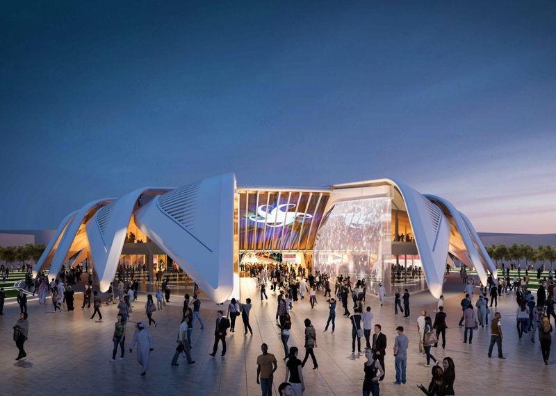 UAE pavilion Dubai World Expo 2020 by Santiago Calatrava