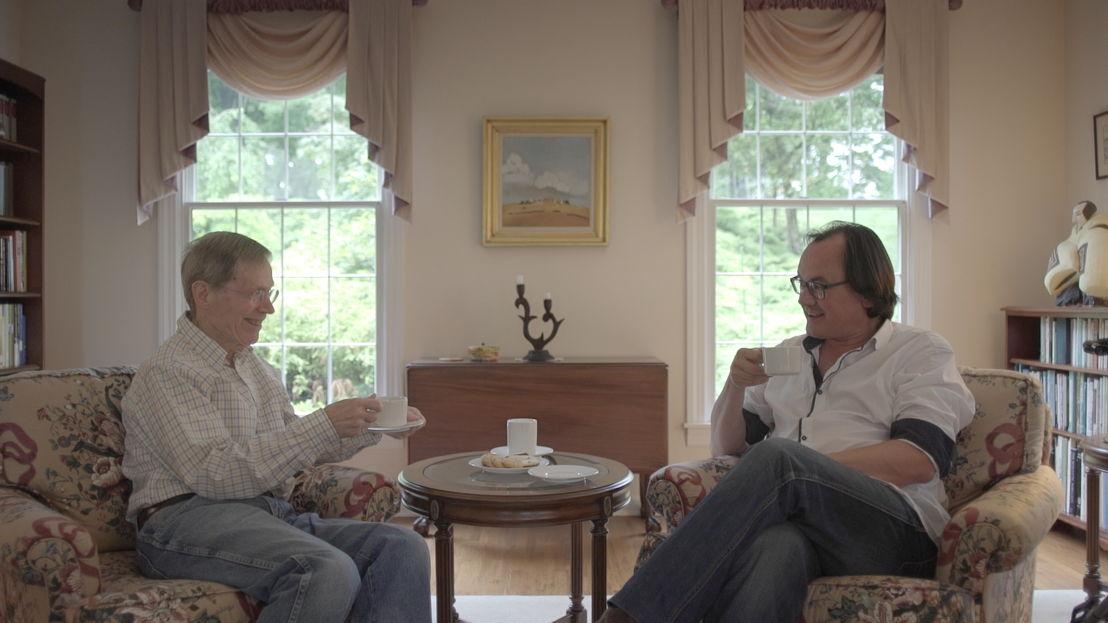 Jonathan Braeckman en Edward English - (c) VRT
