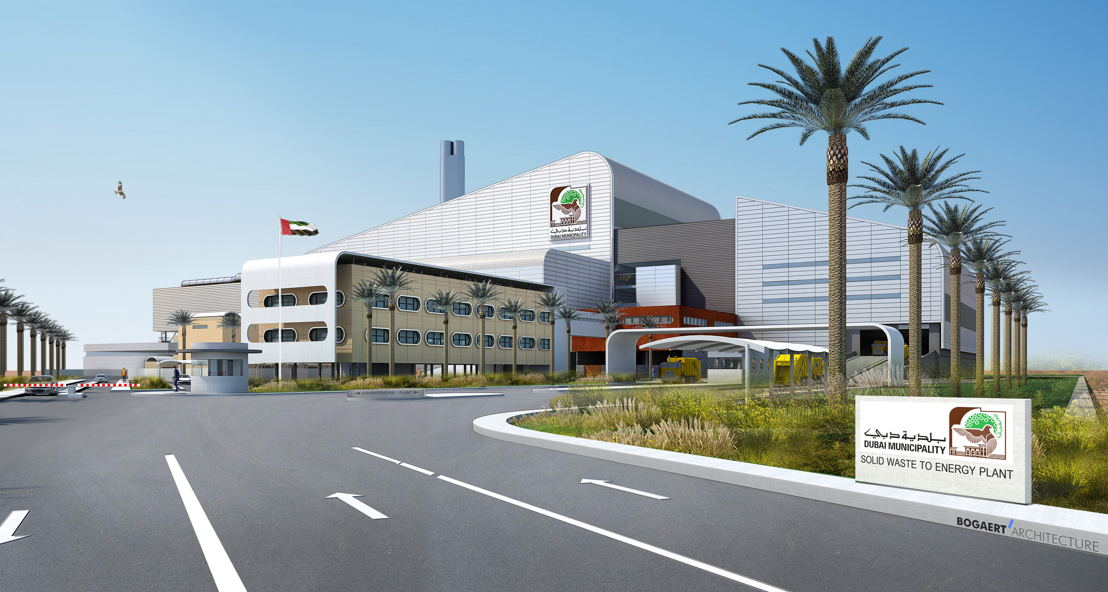 Energy from Waste -<br/> Dubai - Render