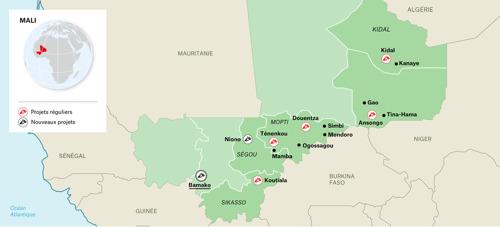 MALI : Les violences au centre du pays atteignent une ampleur sans précédent